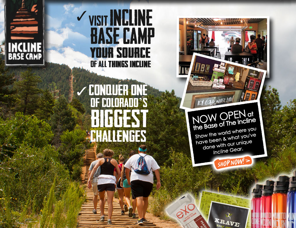 Visit Incline Base Camp - Your Source of All Things Incline. Conquer One of Colorado's Biggest Challenges